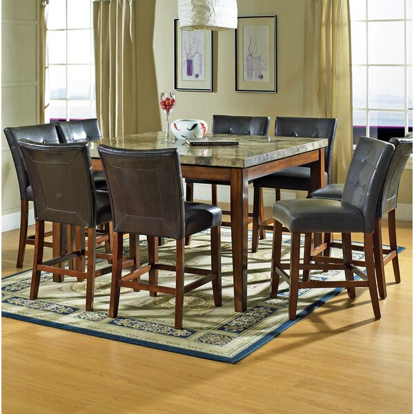 Laverty 9 Piece Counter Height Dining Set by Millwood Pines