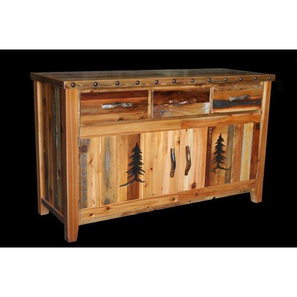 Jorgensen 3 Drawer Buffet Table By Loon Peak