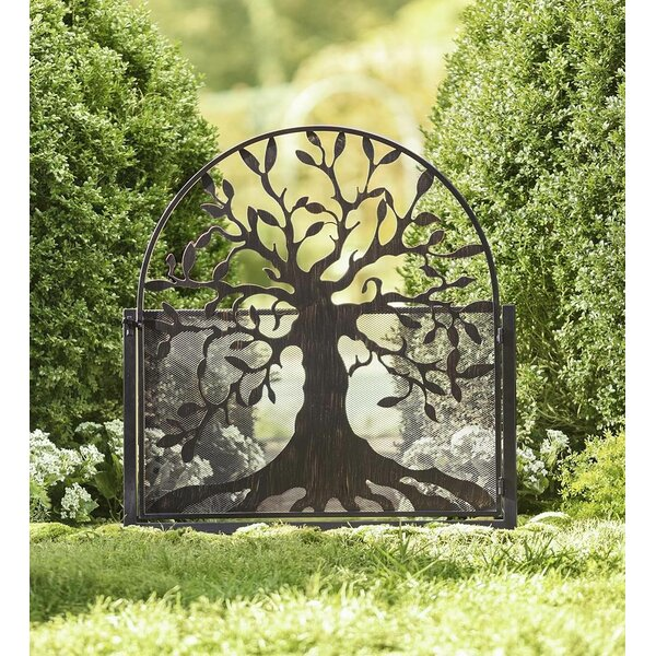 4 ft. H x 3 ft. W Garden Tree of Life Gate by Plow & Hearth