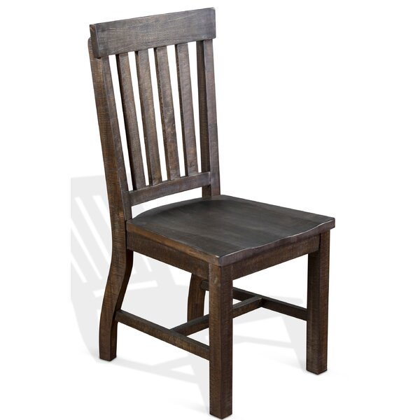 Sebastian 1 Piece Solid Wood Chair by Gracie Oaks