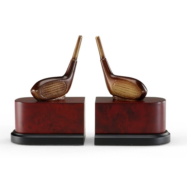 Driver Bookends (Set of 2) by Wildwood