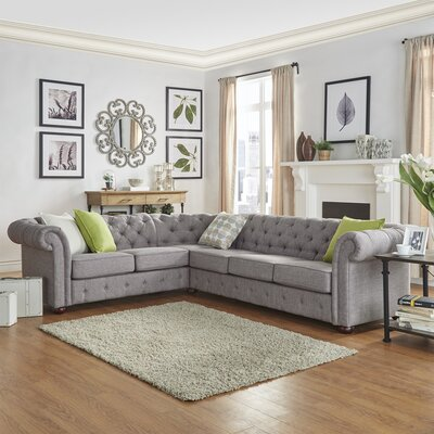 Three Posts Reversible Sectional Collection Upholstery Color Sectionals