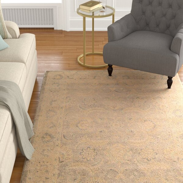 Fullmer Taupe Area Rug by Darby Home Co