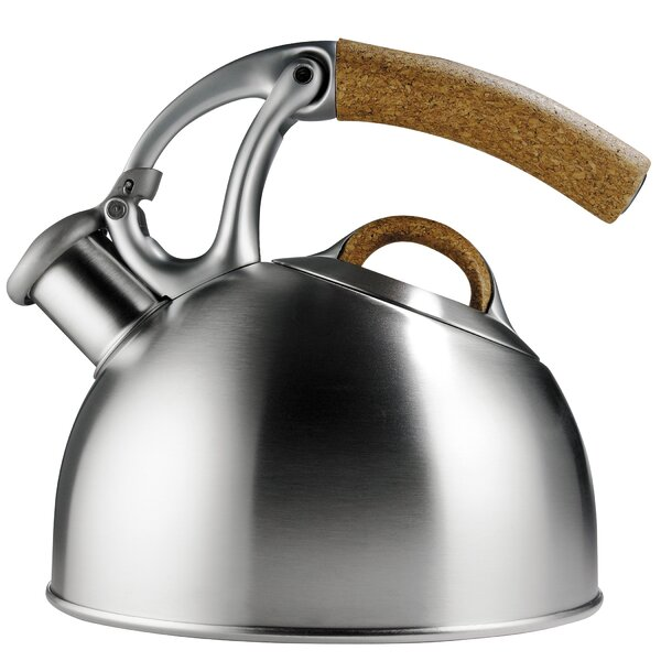 Good Grips Anniversary Edition 2 Quart Uplift Tea Stainless Steel Stovetop Kettle by OXO