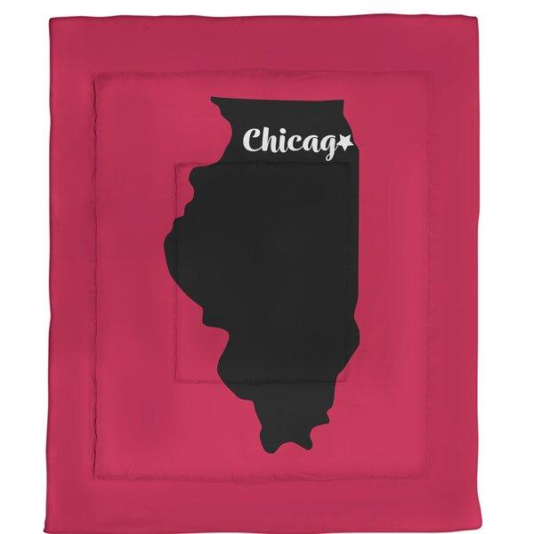 Chicago Single Reversible Comforter