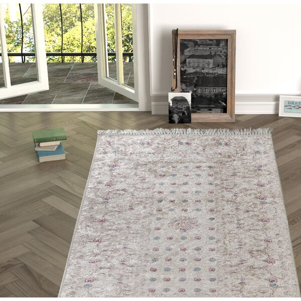 Enciso Beige Indoor/Outdoor Area Rug by Charlton Home