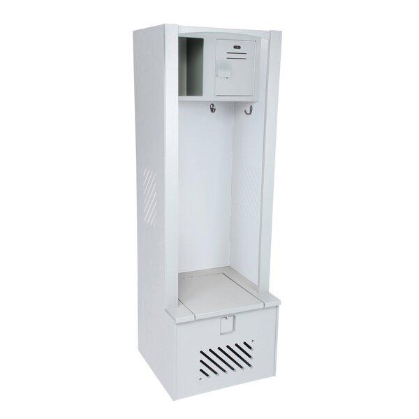 1 Tier 1 Wide Gym Locker by Lenox Plastic Lockers