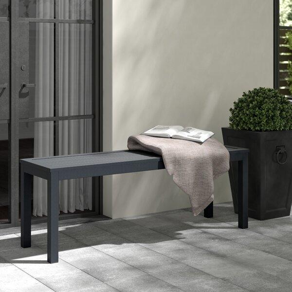 Premont Aluminium Garden Bench by Greyleigh