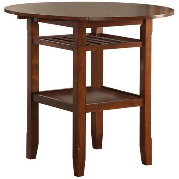 Talbot Counter Height Drop Leaf Dining Table by August Grove