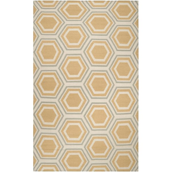 York Butter Area Rug by Langley Street