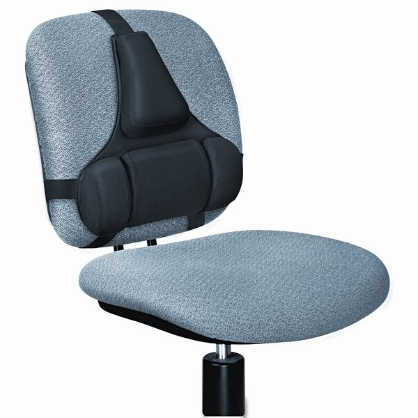 Professional Series Back Support, Memory Foam Cushion by Fellowes Mfg. Co.