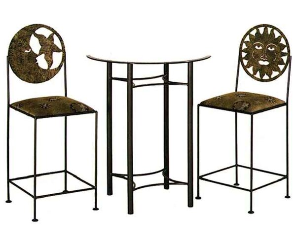 Hickory 24 Bar Stool By Fireside Lodge ★ Footstool Or
