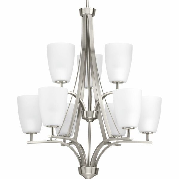 Devi 9 - Light Shaded Tiered Chandelier By Red Barrel Studio