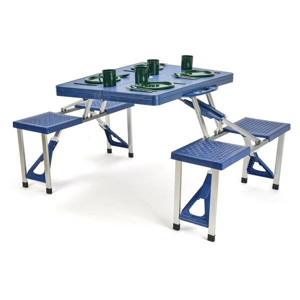 Picnic Table by Trademark Innovations