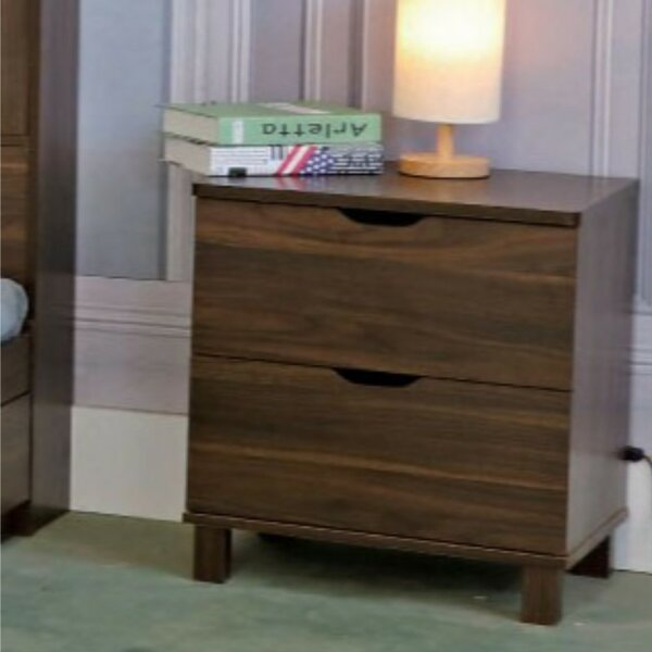 Marcus 2-Drawer Nightstand by Ebern Designs