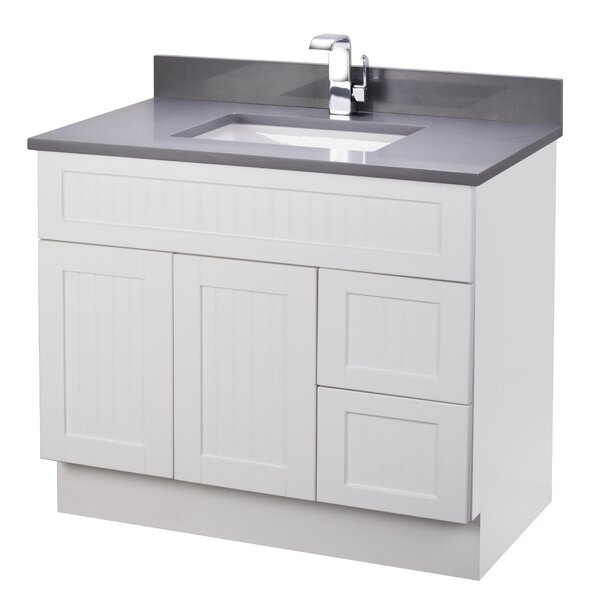 Stratford Cottage 37 Single Bathroom Vanity Set by Cutler Kitchen & Bath