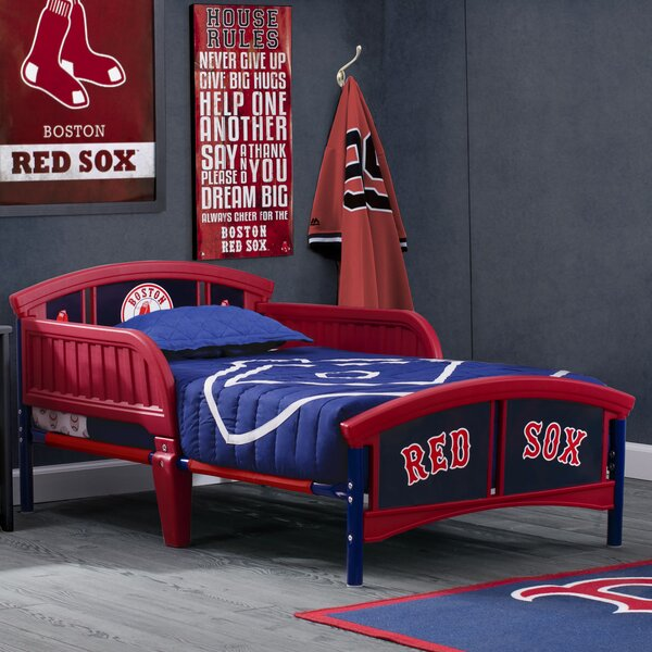 MLB Boston Red Sox Toddler Bed by Delta Children