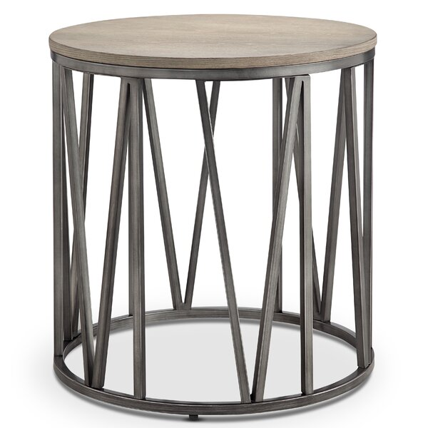 Coppock Modern End Table by Brayden Studio