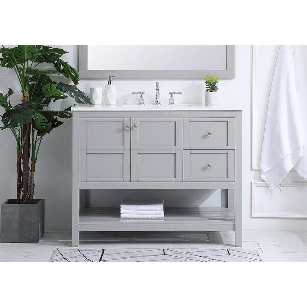 Landrum 42 Single Bathroom Vanity Set
