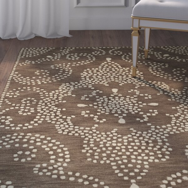 Bashford Hand Tufted Brown/Beige Area Rug by House of Hampton