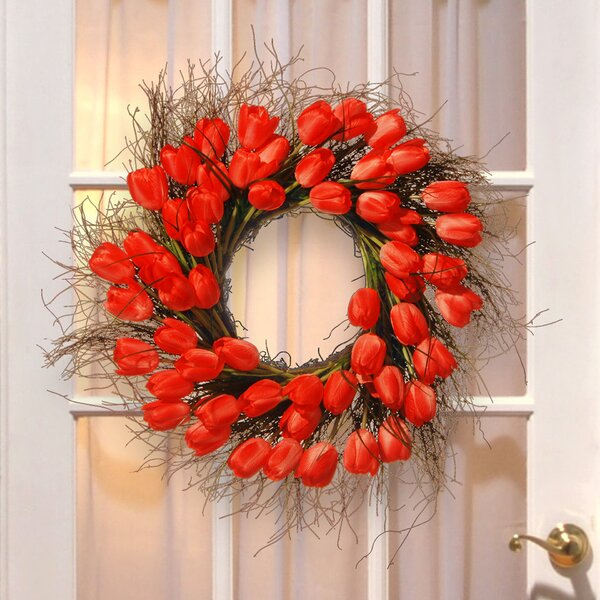 Spring Tulip Wreath By National Tree Co.