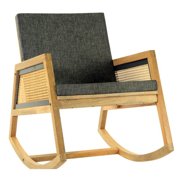 Rexdale Rocking Chair by World Menagerie