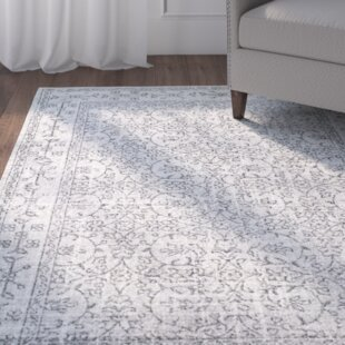 Find Utterback Gray Area Rug By Mercury Row