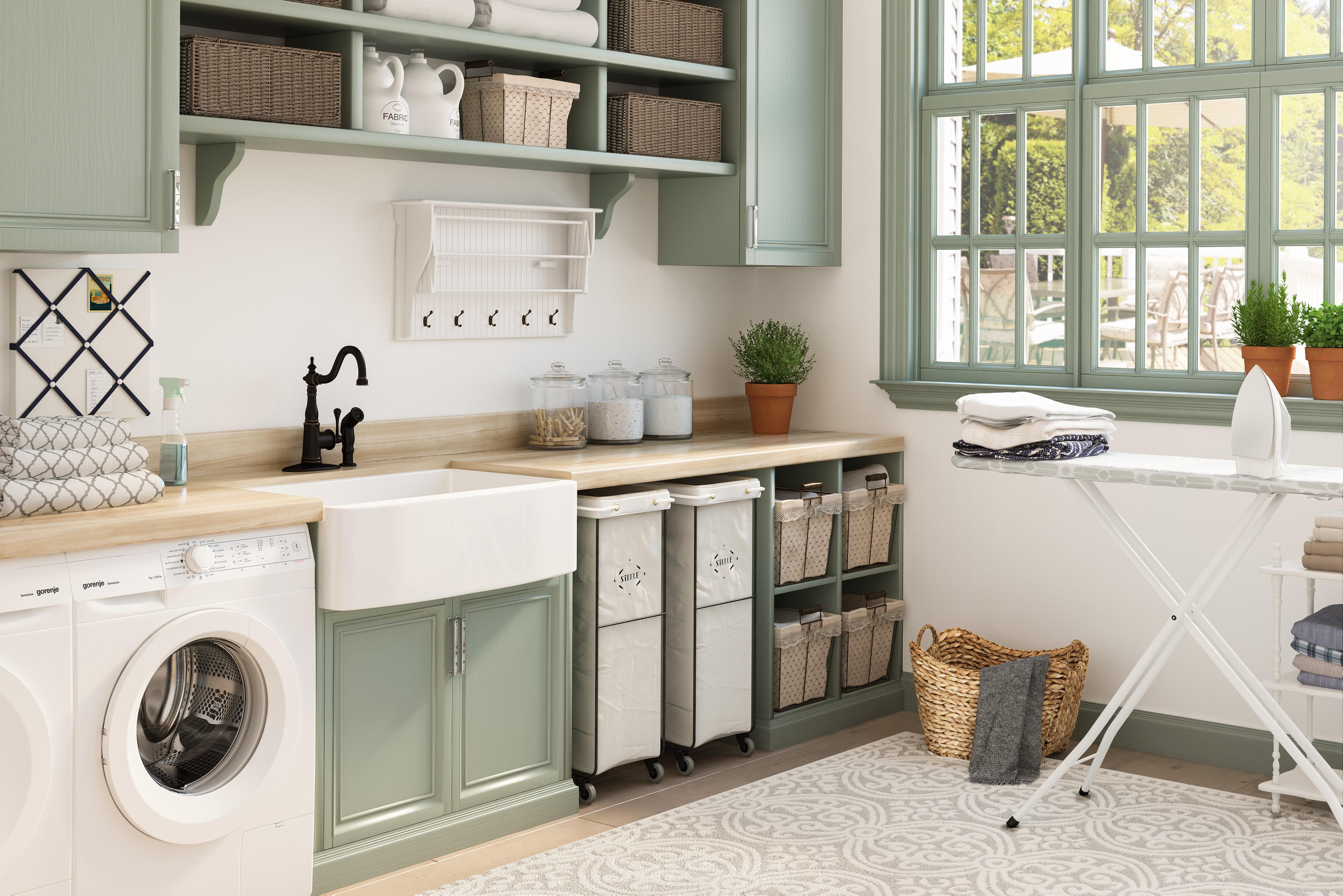 27 Essential Laundry Room Storage Ideas  Wayfair