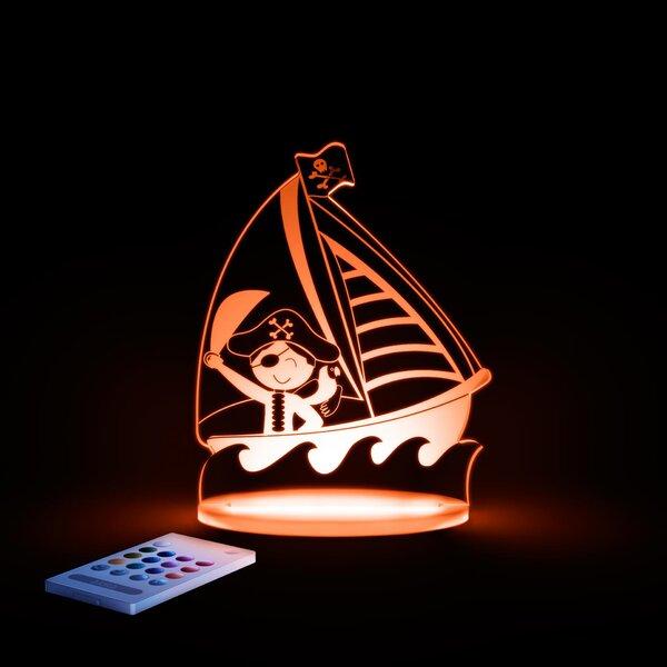 Aloka Pirate Night Light by Lumenico