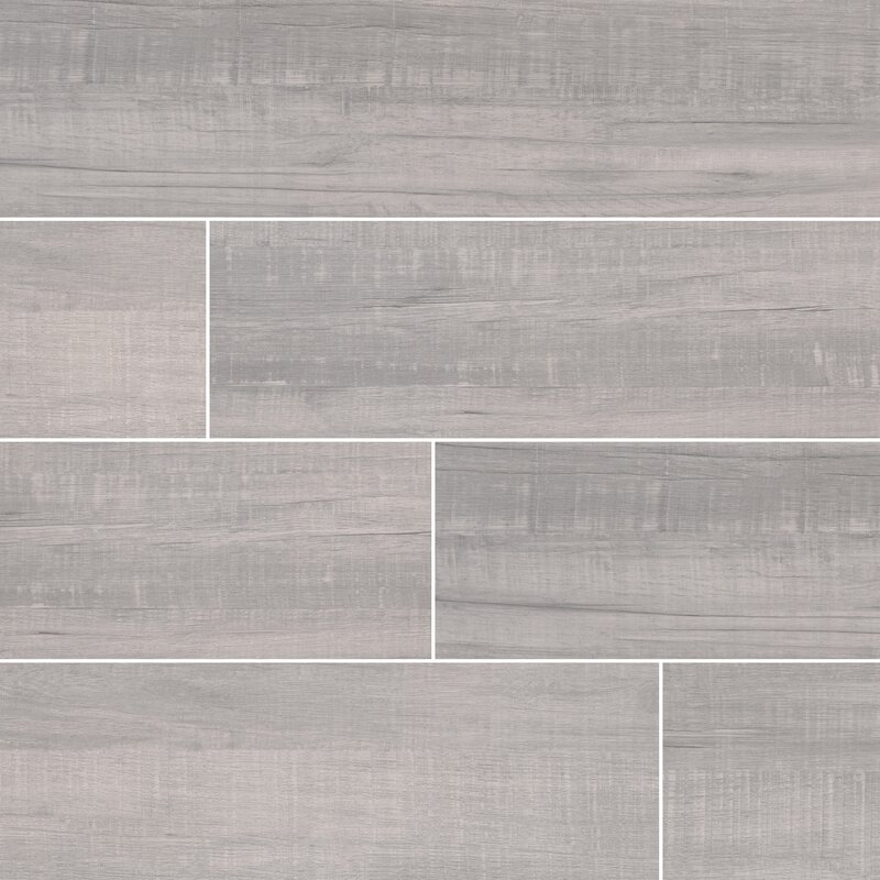 Belmond Pearl 8 X 40 Ceramic Wood Look Tile