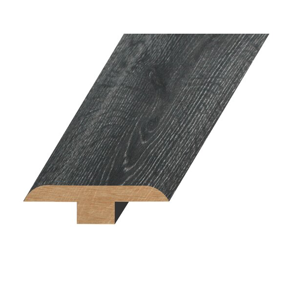 0.47 x 1.81 x 94.49 Oak T-Molding in Smokey Gray by Concept One Accessories