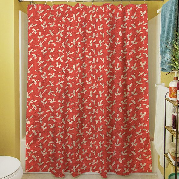 Dream Big Ditsy Florals Shower Curtain by Manual Woodworkers & Weavers