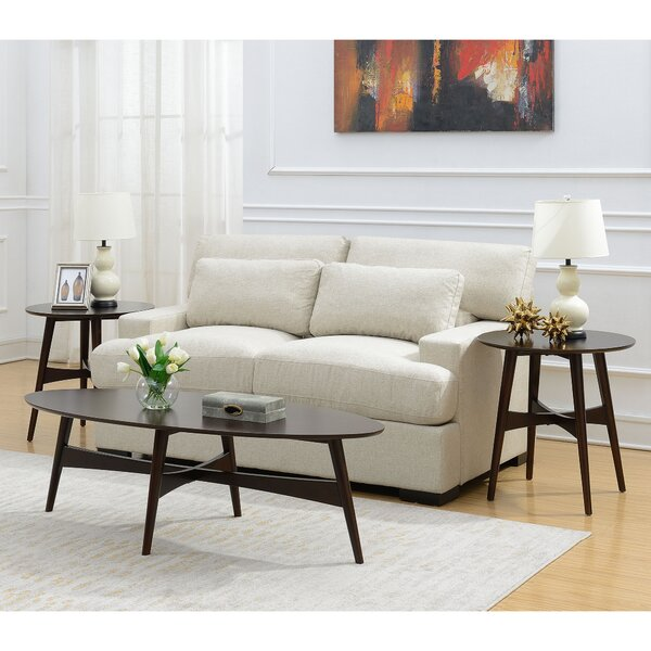 Bryce 3 Piece Coffee Table Set by George Oliver