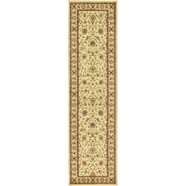 Fairmount Cream Area Rug by Three Posts