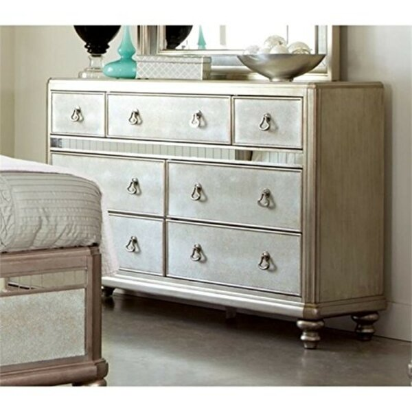 Kelloch Wooden 7 Drawer Dresser by Rosdorf Park