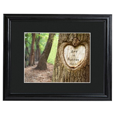 Personalized Gift Tree of Love Framed Photo Graphic Print on Paper by JDS Personalized Gifts