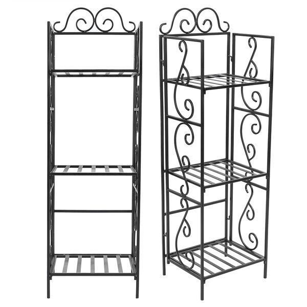 Efigenia Iron Plant Etagere Bookcase By Fleur De Lis Living
