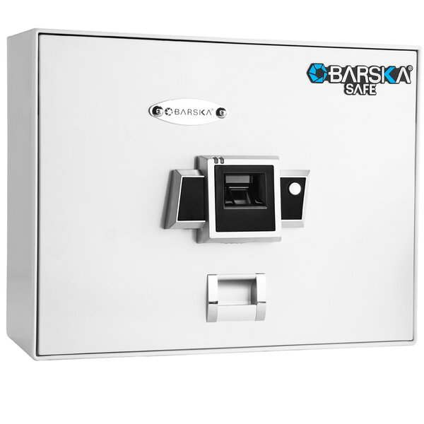 BX200 Top Opening Biometric Lock Security Safe by Barska