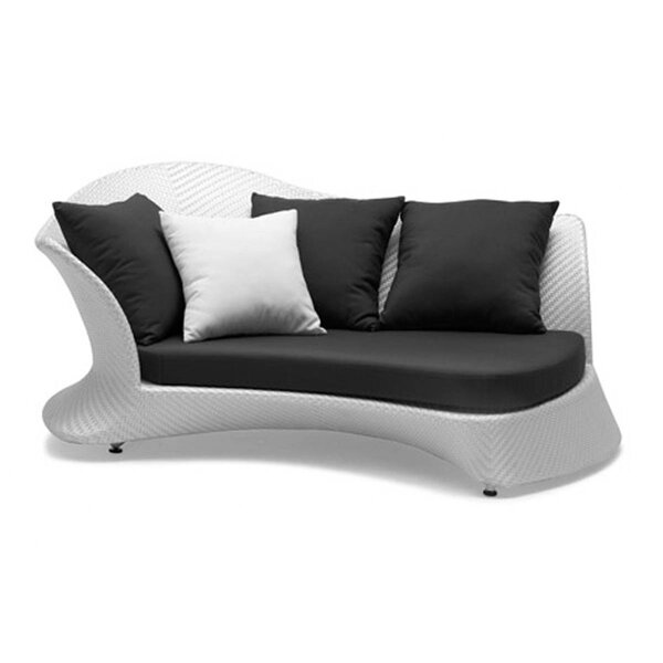 Rivage Right Facing Patio Sofa with Cushions by 100 Essentials