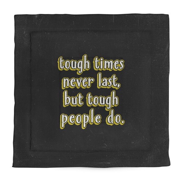Tough Times Single Reversible Comforter