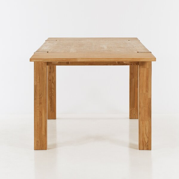 Watauga Extendable Solid Wood Dining Table by Highland Dunes Highland Dunes