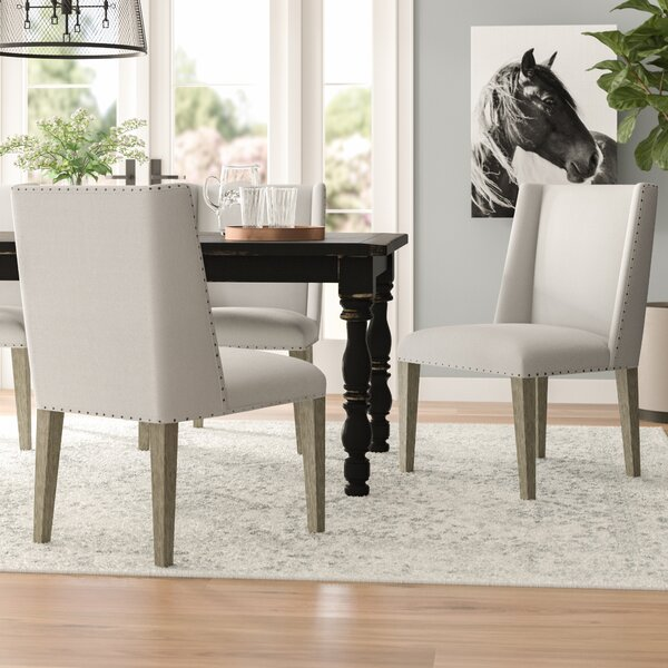 Ferndown Side Upholstered Dining Chair (Set Of 2) By Laurel Foundry Modern Farmhouse