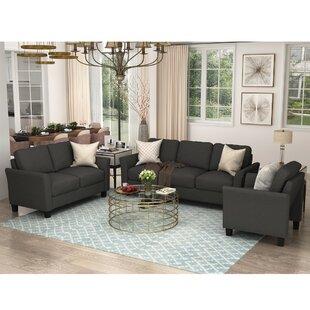 Dondrey 3 Piece Living Room Set (Set of 3) by Red Barrel Studio®