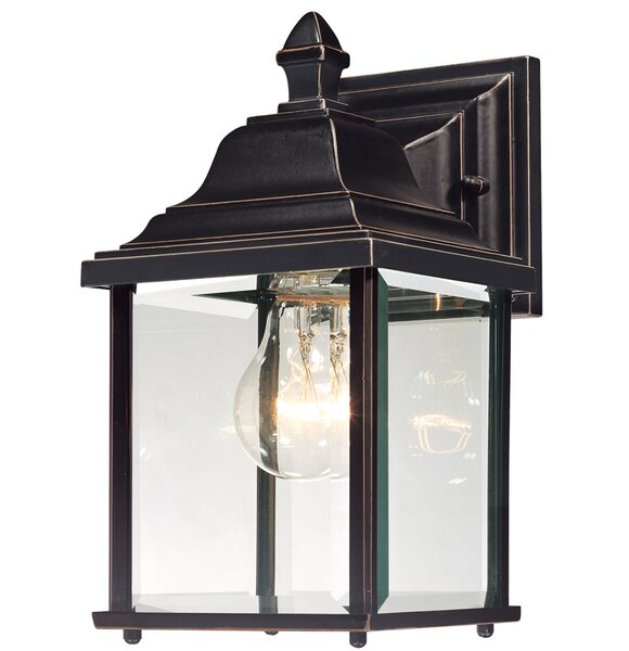 Talmadge 1-Light Outdoor Wall Lantern by Laurel Foundry Modern Farmhouse