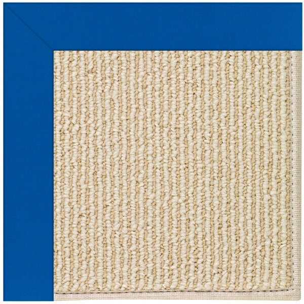Lisle Machine Tufted Reef Blue/Beige Indoor/Outdoor Area Rug by Longshore Tides