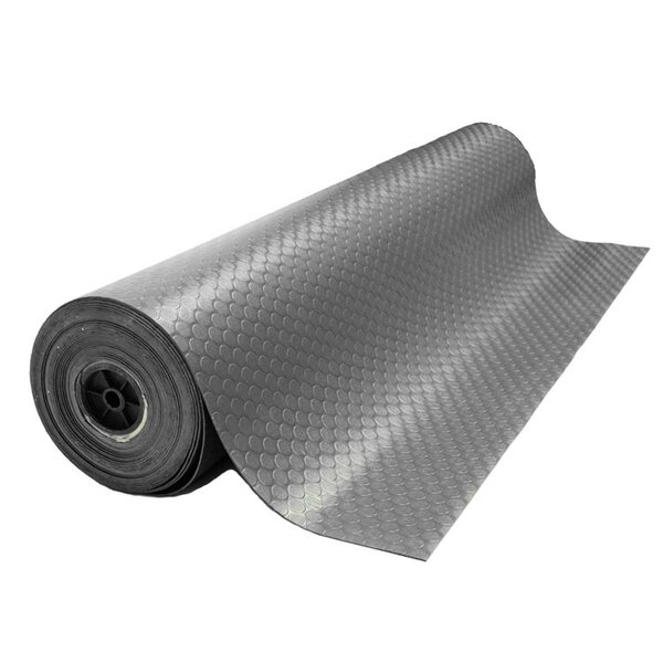 Coin-Grip 168 Anti-Slip Rolled Rubber Mat by Rubber-Cal, Inc.