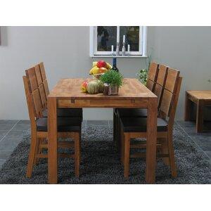 Essgruppe Mark mit 6 Stühlen von Natur Pur