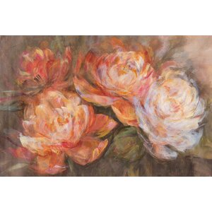 'First Blush' Painting Print on Wrapped Canvas by Lark Manor