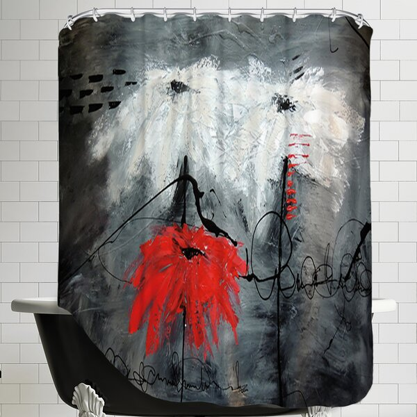 Jaousie Shower Curtain by East Urban Home
