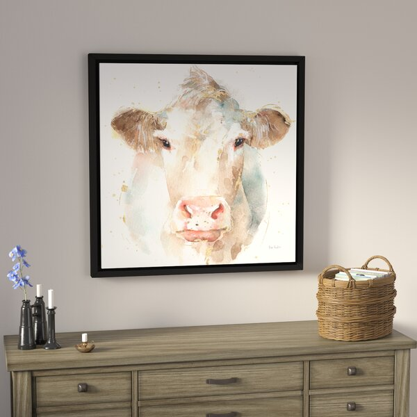 Farm Friends II Framed Painting Print on Wrapped Canvas by Laurel Foundry Modern Farmhouse